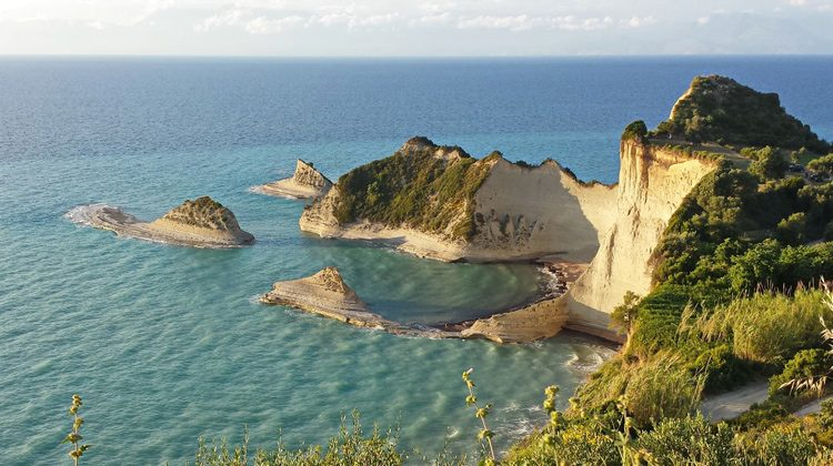 Cape Drastis in Corfu